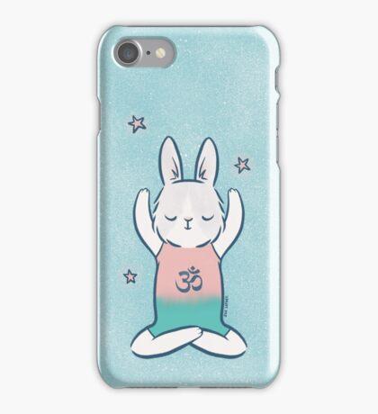Yoga Bunny iPhone Case/Skin