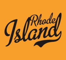 Rhode Island Script Black by USAswagg2