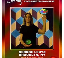 George Leutz Q*Bert Rookie Card by wdaycollection