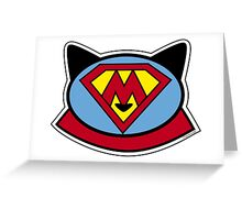 Super Meow Greeting Card
