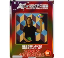 George Leutz Q*Bert Rookie Card iPad Case/Skin