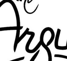 The Argus - Merchandise  Sticker