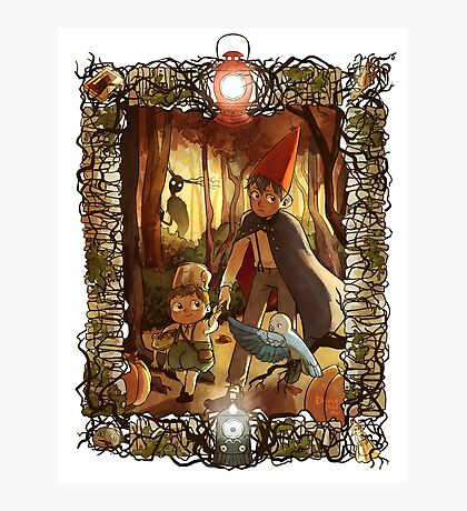Over the Garden Wall Photographic Print