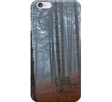 Lonely bench - Florina iPhone Case/Skin