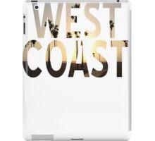 West coast 1 iPad Case/Skin