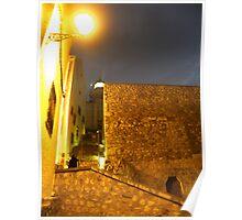 Iluminando la noche Poster
