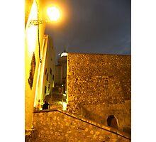 Iluminando la noche Photographic Print