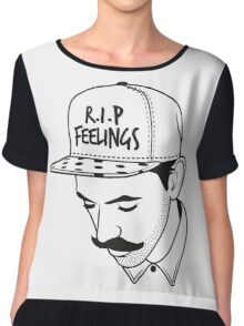 R.I.P. Feelings Chiffon Top