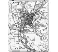 Vintage Map of Cairo Egypt (1911) iPad Case/Skin