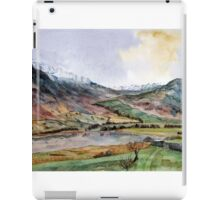 """""""Where the Snow Never Leaves"""" The Lake District, Cumbria iPad Case/Skin"""