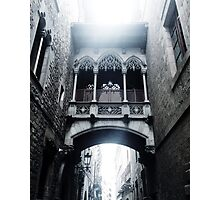 Carrer del Bisbe Photographic Print