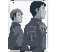 Attack On Titan - Jean & Marco iPad Case/Skin