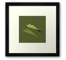 Paper Airplane 23 Framed Print