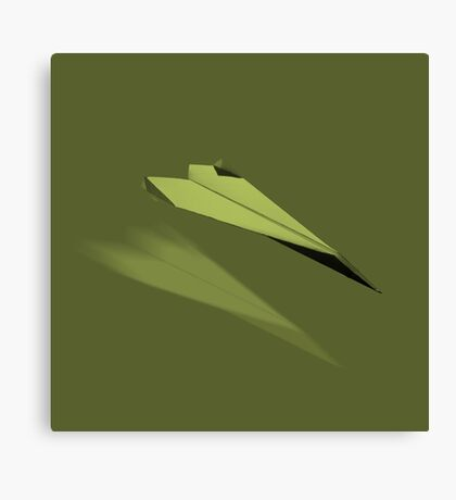 Paper Airplane 23 Canvas Print