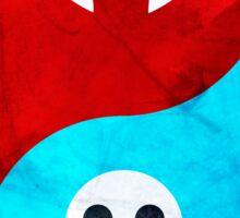 soul eater- yin yang version 2 Sticker