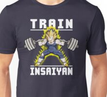 TRAIN INSAIYAN (Vegeta Squat - Leg Day) Unisex T-Shirt