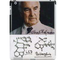 Albert Hofmann - LSD iPad Case/Skin