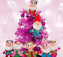 Ho, ho, ho from the seven dwarfs! by Zoe Power