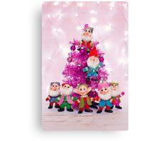 Ho, ho, ho from the seven dwarfs! Canvas Print