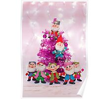 Ho, ho, ho from the seven dwarfs! Poster