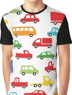 toy car pattern - automobile illustration Graphic T-Shirt