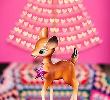 Christmas Bambi by Zoe Power