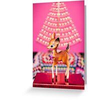 Christmas Bambi Greeting Card