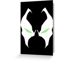 Spawn i love yor eyes Greeting Card