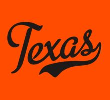 Texas Script Black by USAswagg2