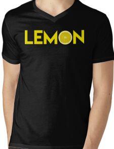 Lemon Mens V-Neck T-Shirt