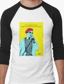 Captain Sensible Atheism Men's Baseball ¾ T-Shirt