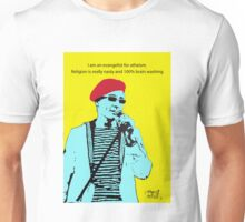 Captain Sensible Atheism Unisex T-Shirt