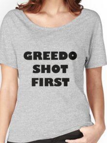 Greedo Shot First Women's Relaxed Fit T-Shirt