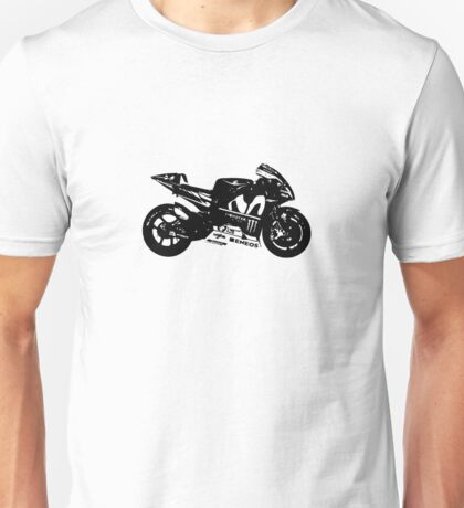 Yamaha YZR-M1 MotoGP Bike Unisex T-Shirt