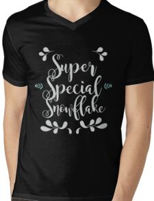 Super Special Snowflake Mens V-Neck T-Shirt