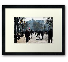 Morning in Ukraine. This Year Framed Print