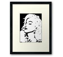 Please Say You Love Me Framed Print