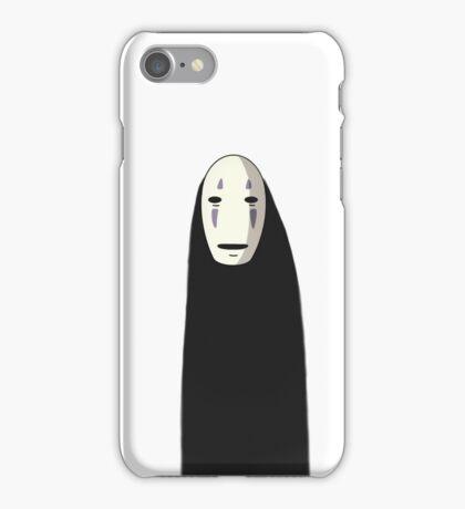 Kaonashi - No Face [Standing] iPhone Case/Skin