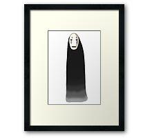 Kaonashi - No Face [Standing] Framed Print