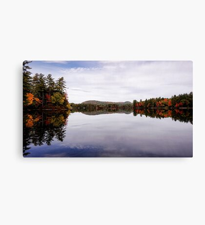 Autumn - Moose Pond Canvas Print