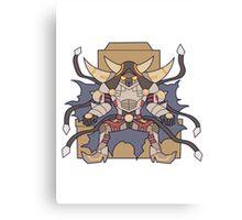 D/D/D Oblivion King Abyss Ragnarok Canvas Print