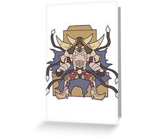 D/D/D Oblivion King Abyss Ragnarok Greeting Card