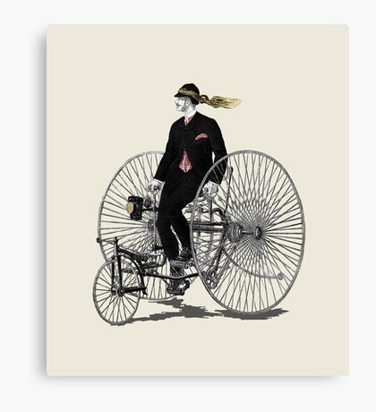 19th century tricycle  Canvas Print