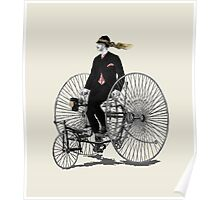 19th century tricycle  Poster