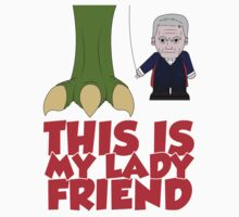 This Is My Lady Friend by Vector  T-Shirts
