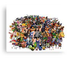 Amiga Game Characters Canvas Print