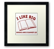 Big Books Framed Print