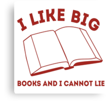 Big Books Canvas Print
