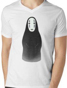 Kaonashi - No Face [Sitting] Mens V-Neck T-Shirt