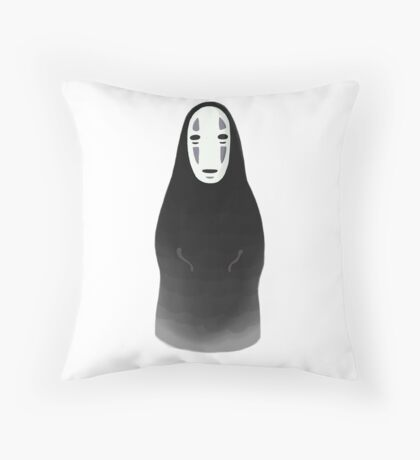 Kaonashi - No Face [Sitting] Throw Pillow